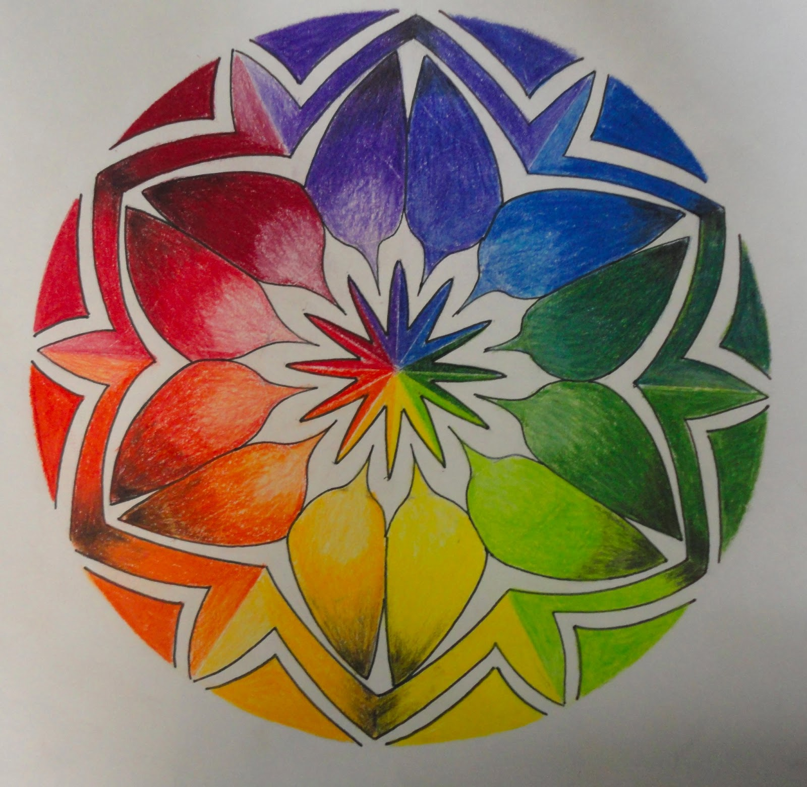 J rae designs for Creative color wheel