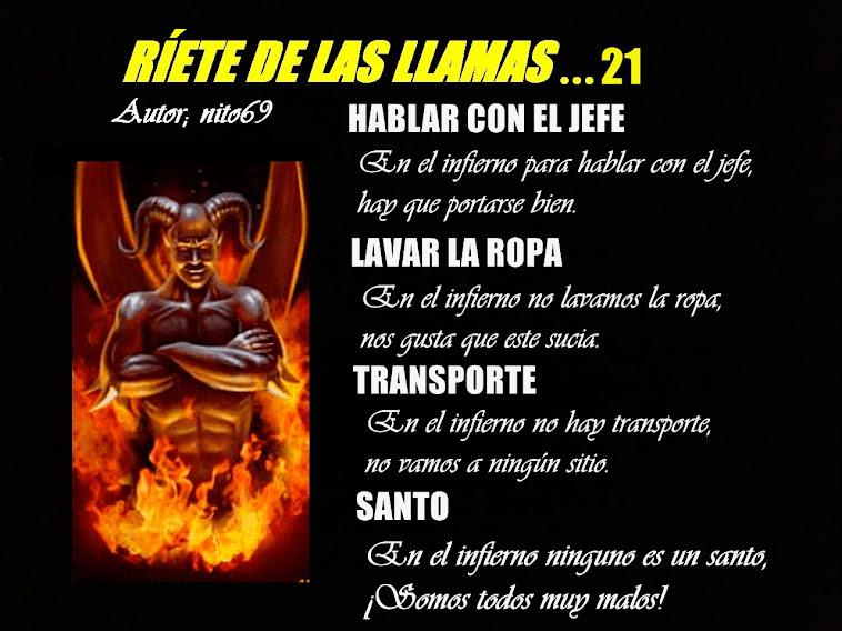 RÍETE DE LAS LLAMAS...21