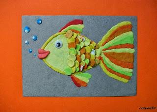 ryba z plasteliny