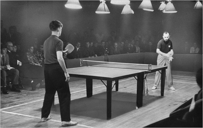 The History of Table Tennis