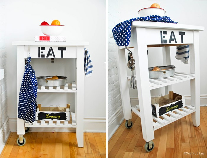 Hoher Apothekerschrank Ikea ~ and l projects IKEA Hacks BEKVAM Kitchen Cart