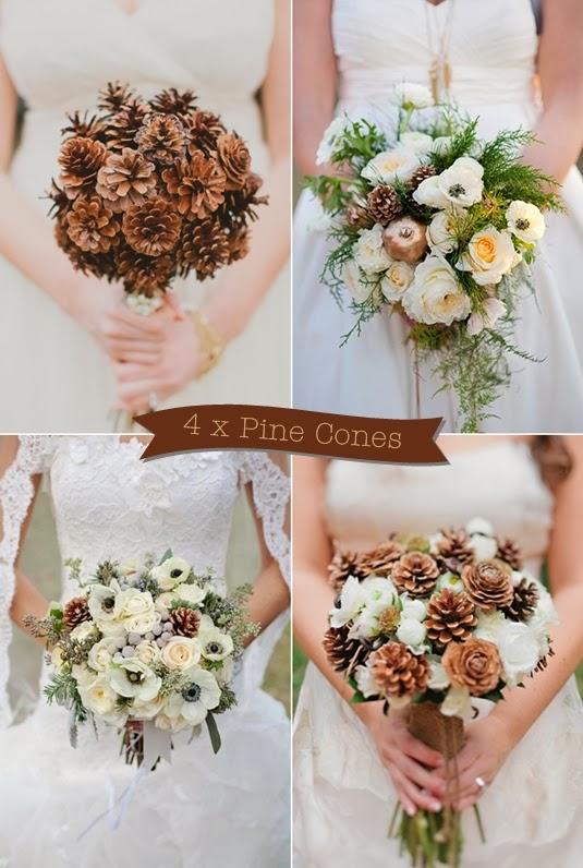 brudbukett kottar, kottar bukett, vintriga brudbuketter, vita brudbuketter, bouquet pine cones, wedding bouquet pine cones, bridal bouquet pine cones