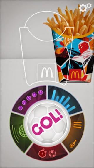McDonald's GOL! Mobile App