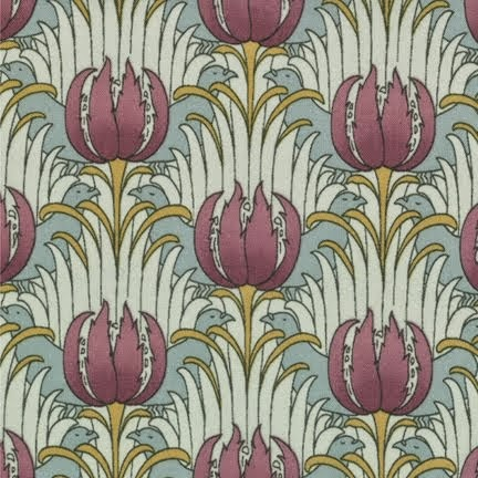 MORRIS MODERNIZED: CFA VOYSEY My latest arts-and-crafts line for Moda is in shops now.