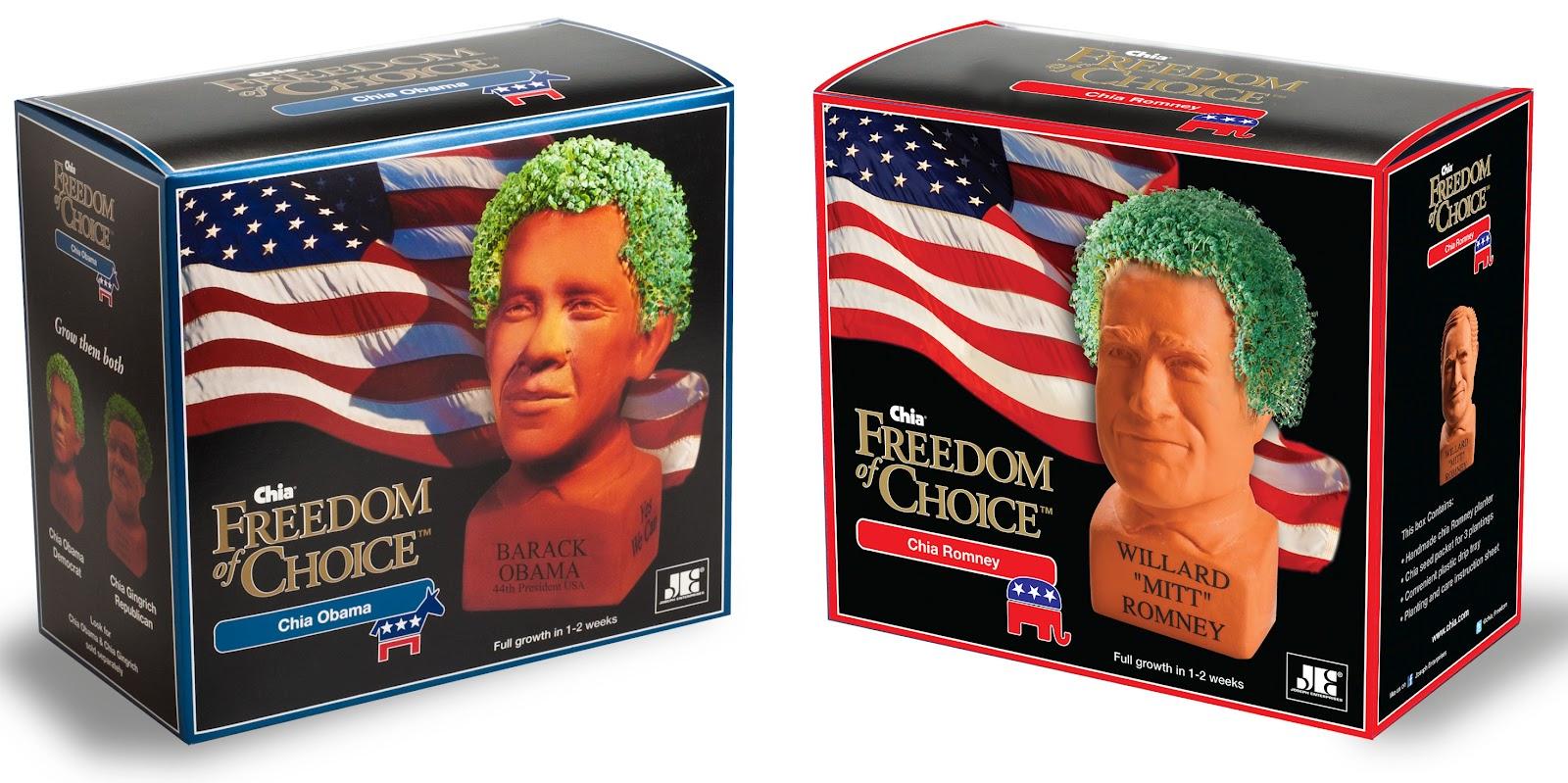 Chia Obama Chia Romney