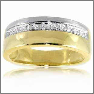 Embed Your Love In The Mens Wedding Rings