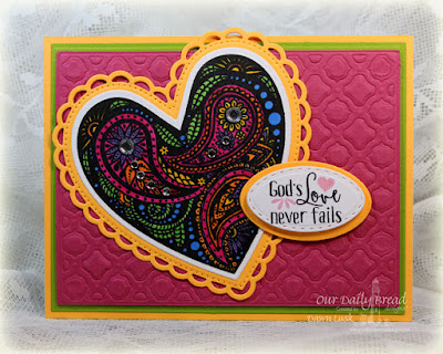 Our Daily Bread Designs Stamp sets: Boho Love, Our Daily Bread Designs Custom Dies: Boho Background, Ovals, Stitched Ovals, Ornate Hearts