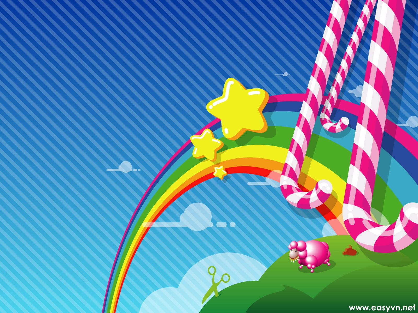 Rainbow Candy on 1179 html