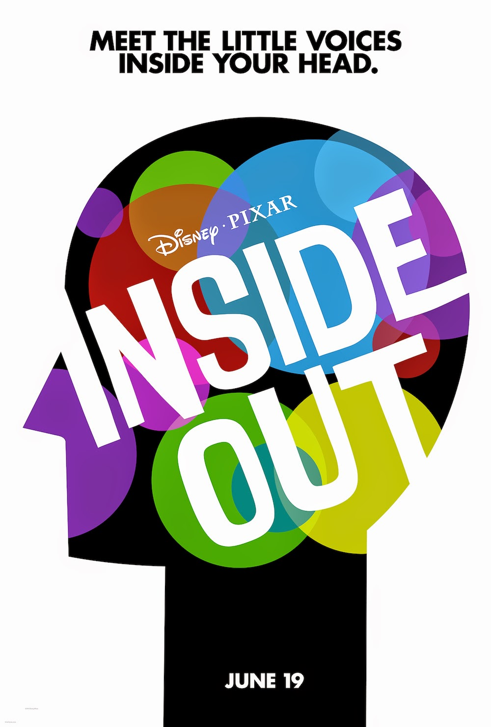 inside out film 2015 pixar poster disney