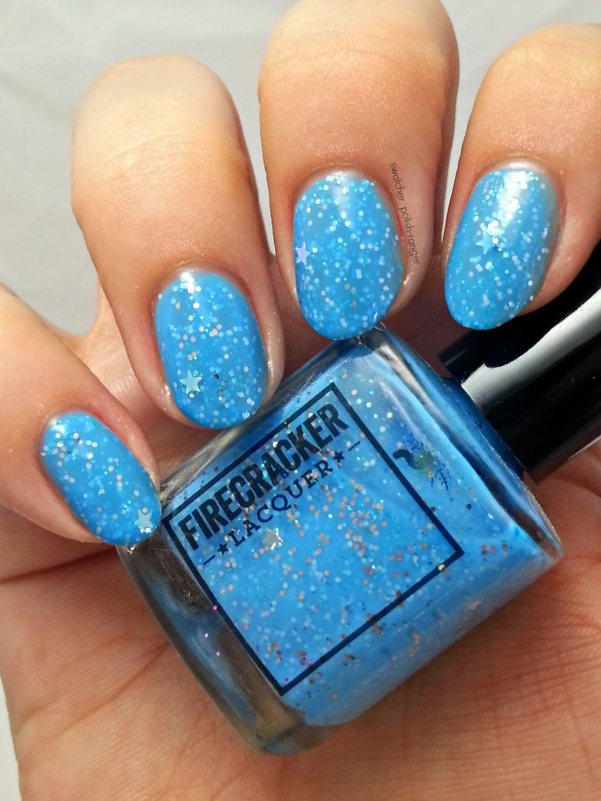 Firecracker Lacquer Starry Sky swatch