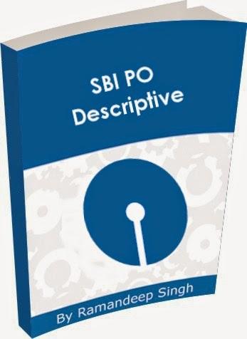 SBI PO descriptive paper