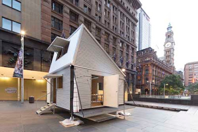 GRID - Emergency Shelters by Sydney-based architects – Carterwilliamson.