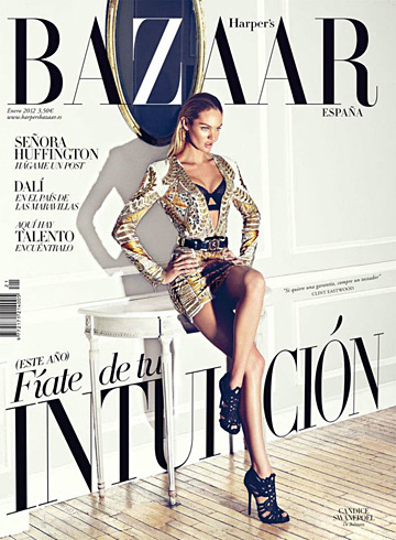 Harper's Bazaar Spain January 2012