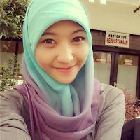 tutorial hijab sma