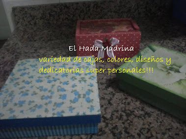 "CAJAS LINEAS COLORS ""RED, GREEN AND BLUE"""