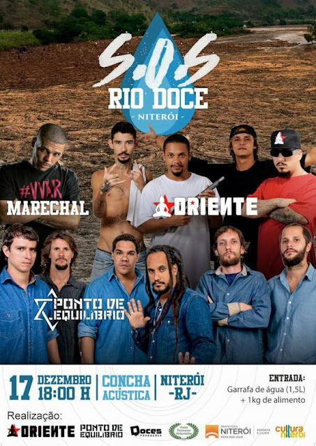 MC MARECHAL + PONTO DE EQUILÍBRIO + ORIENTE = S.O.S RIO DOCE!!