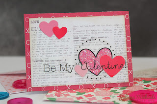 SRM Stickers Blog - Juliana Michaels - #Valentines #cards #mini #borders
