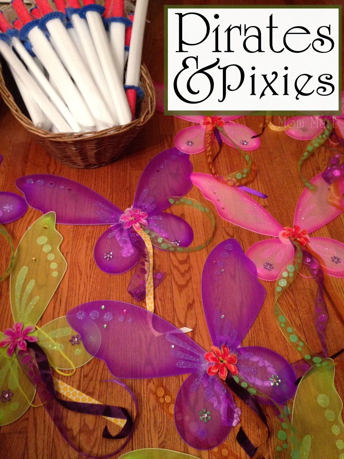 Pirates and Pixies Birthday Party Theme #DisneySide #PirateBirthdayParty #PixieBirthdayParty #Twins