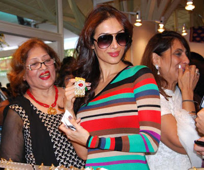 malaika arora khan at a charity event