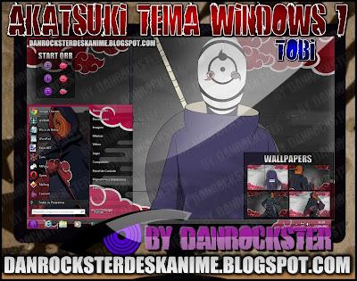 TEMAS de NARUTO PARA WINDOWS XP Y 7 ATT7P