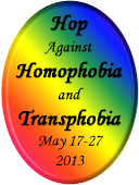 Hop Against Homo/Trans Phobia 5/17-5/27
