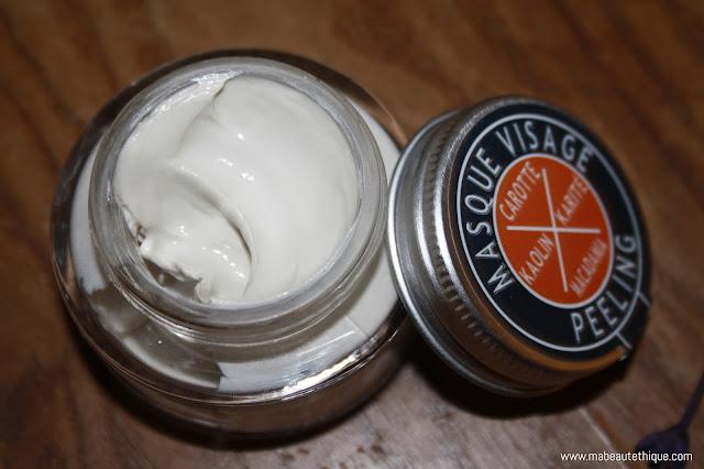 la fare 1789 en provence cosmétiques bio biologiques naturelles masque visage peeling organic ecocert cosmebio blog avis