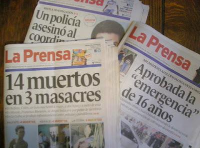 La Prensa's unpopular headlines