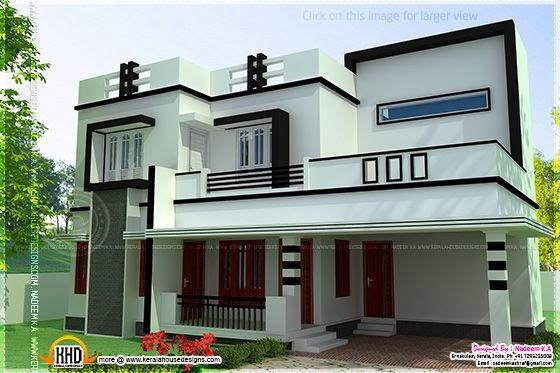 Flat house modern