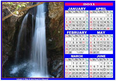 Printable Calendar 2011-1