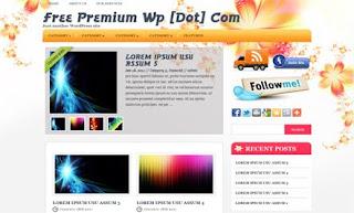FlowerHouse WordPress Theme