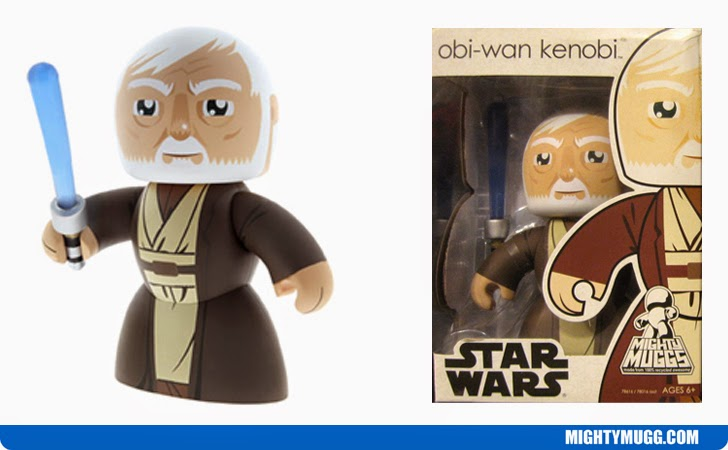 Obi-Wan Ben Kenobi Star Wars Mighty Muggs Wave 9