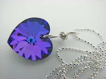 Swarovski Heart on Sterling