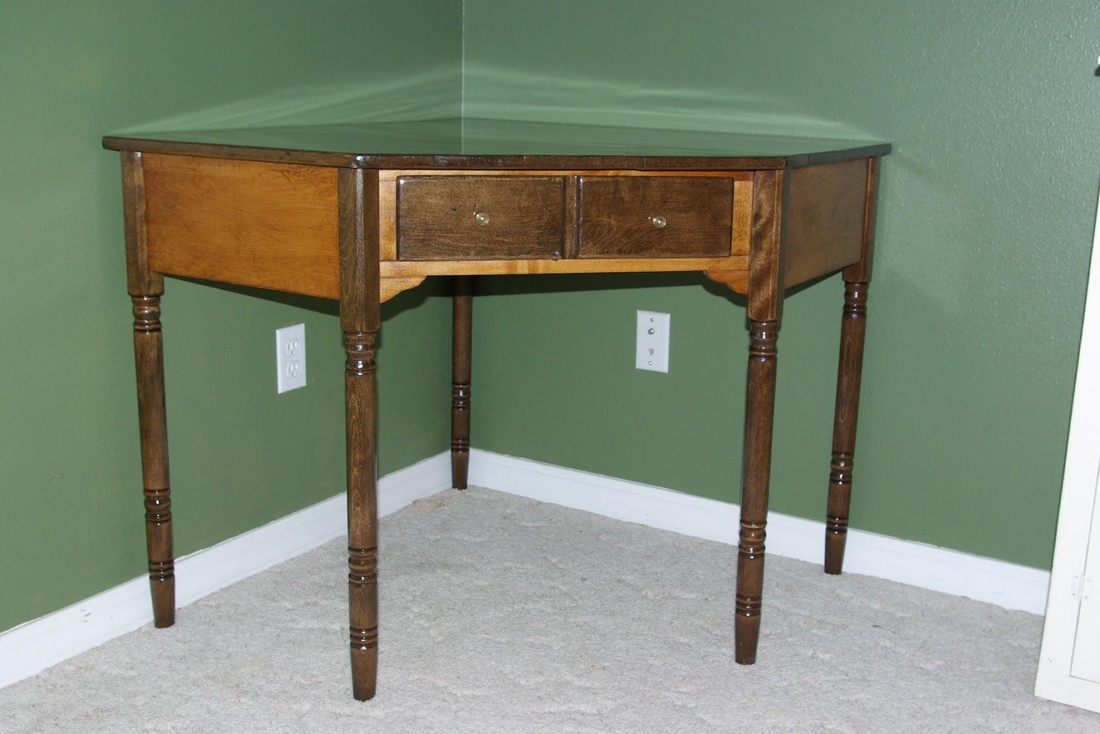 Reclaimed Rustics: Ethan Allen Corner Desk