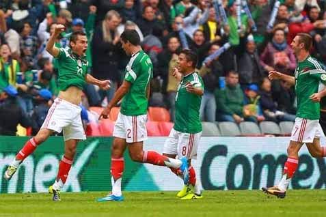 Hasil Pertandingan Grup A Meksiko vs Kamerun