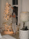 White Christmas decor 2012!