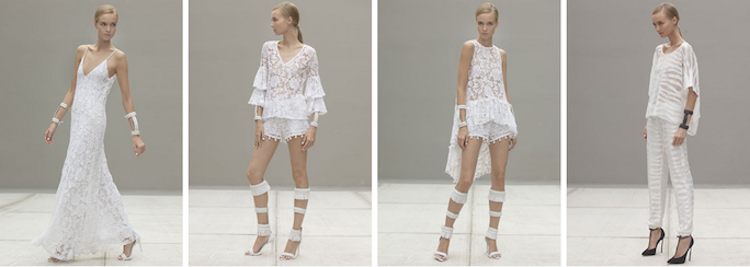 Alexis - white lace