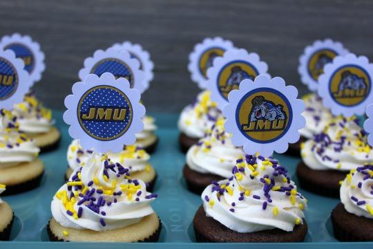 JMU Dukes Cupcakes