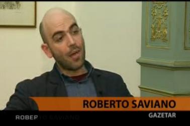 Roberto Saviano in Albania