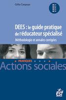 livre annales méthodologie diplôme éducateur spécialisé