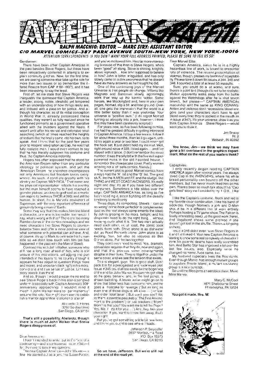 Captain America (1968) Issue #354 #286 - English 24