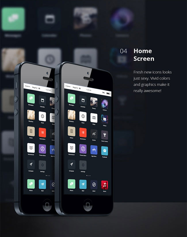 ios 7 redesign concept by alexey masalov