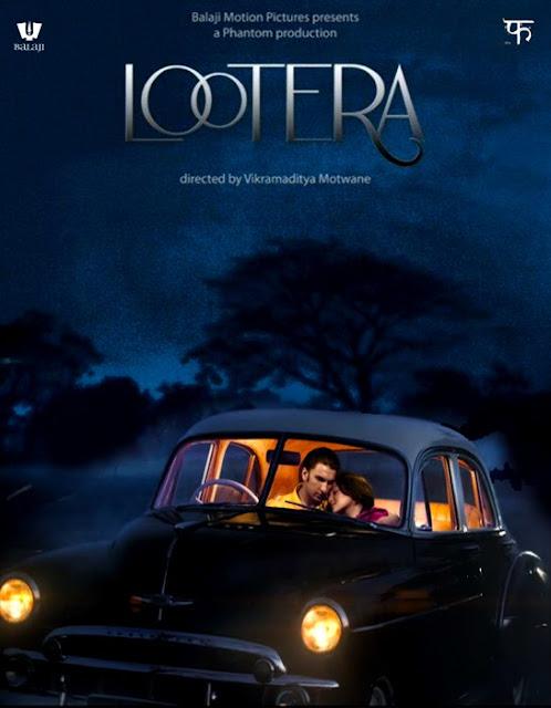 Lootera, movie poster, directed by Vikramaditya Motwane, starring Sonakshi Sinha, Ranveer Singh