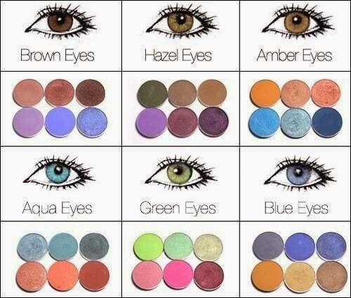 Eyeshadow Diagram For Hazel Eyes Block And Schematic Diagrams