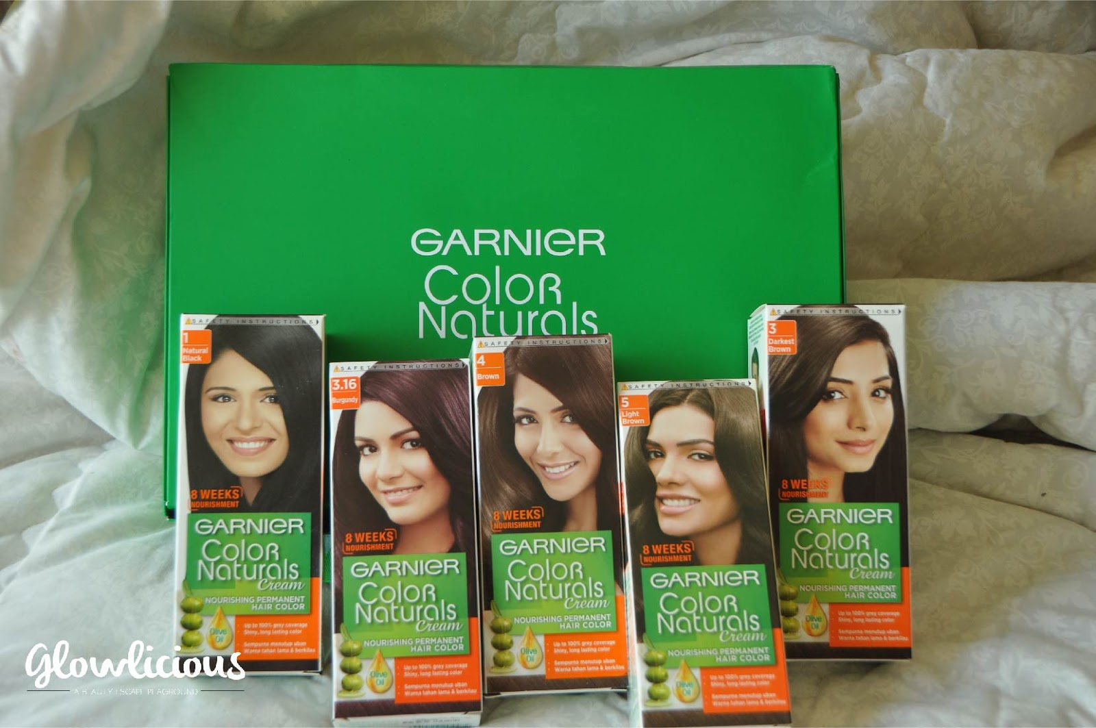 ENGLISH VERSION) Garnier Color Naturals Cream Nourishing Permanent ...