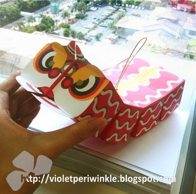 candy box chinese dragon