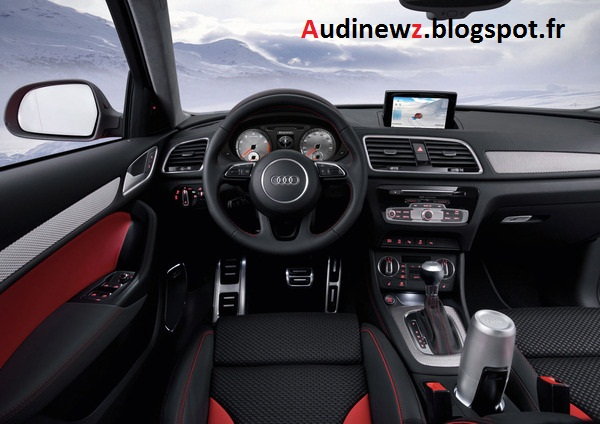 audi newz w rthersee 2012 audi q3 red track concept. Black Bedroom Furniture Sets. Home Design Ideas