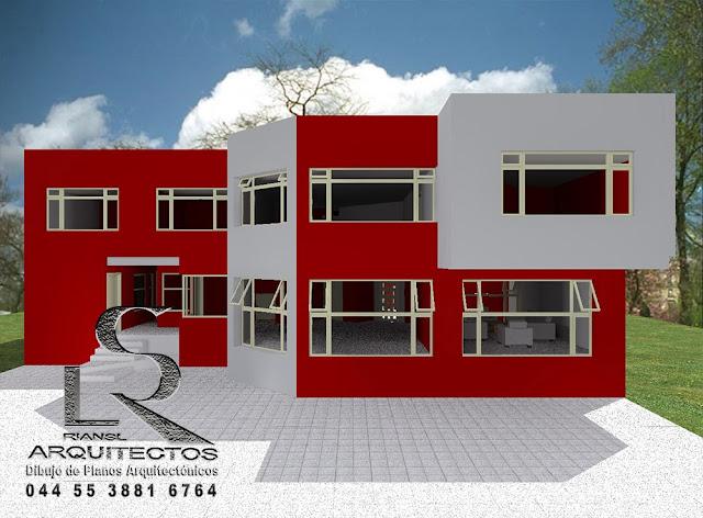 Proyecto arquitect nico en im genes renders dise os for Casas modernas recorrido virtual