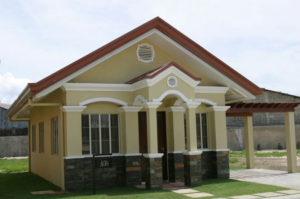 New home designs latest modern small homes exterior for House color design exterior philippines