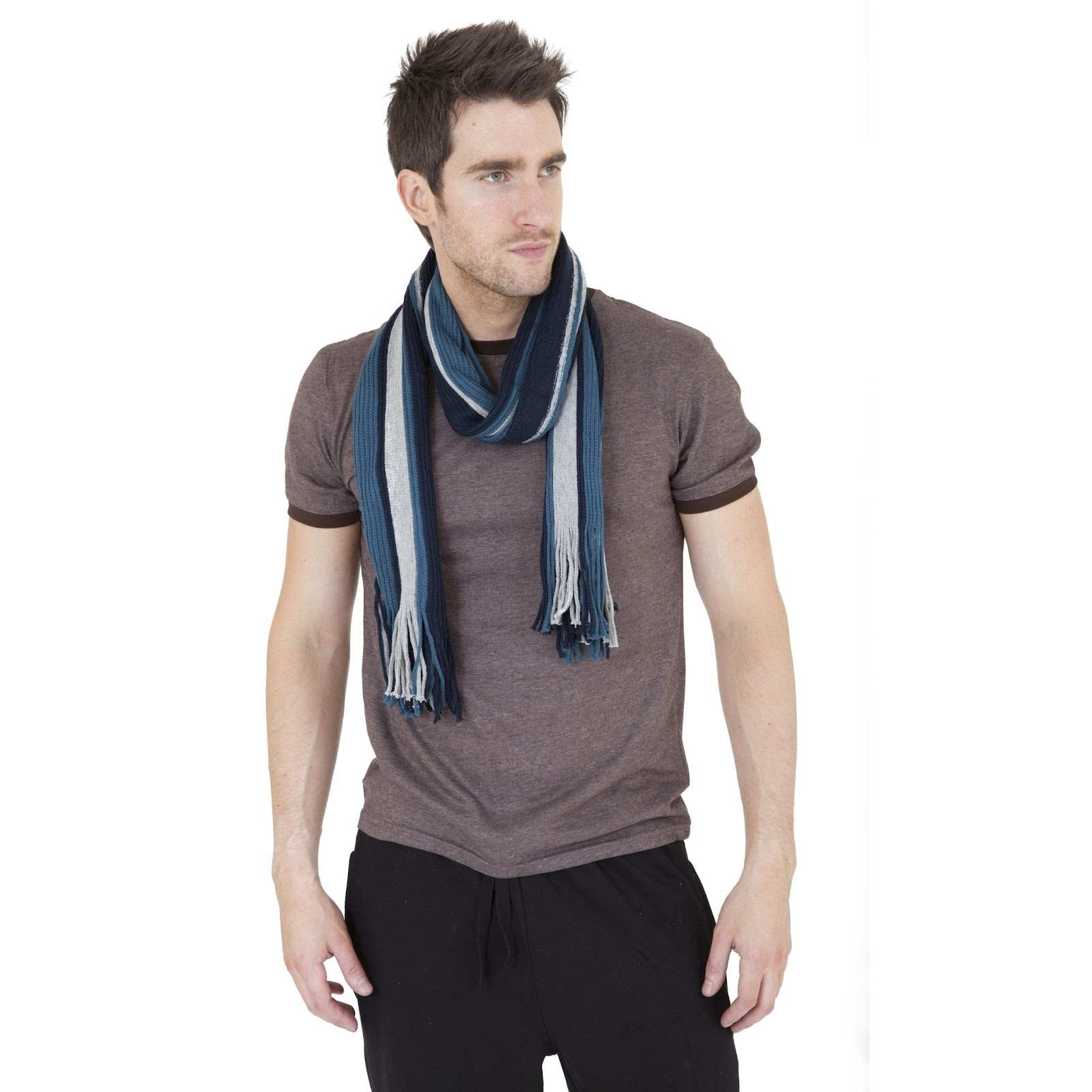 Choosing Best Scarves for Men ~ Trendy Costume | Thermal ...