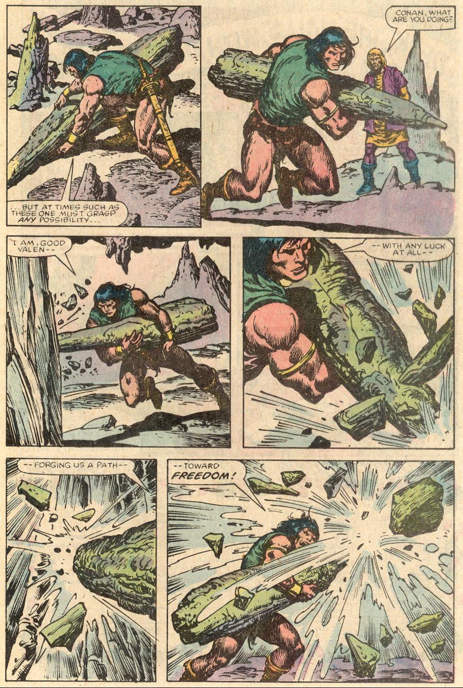 Conan the Barbarian (1970) Issue #144 #156 - English 16